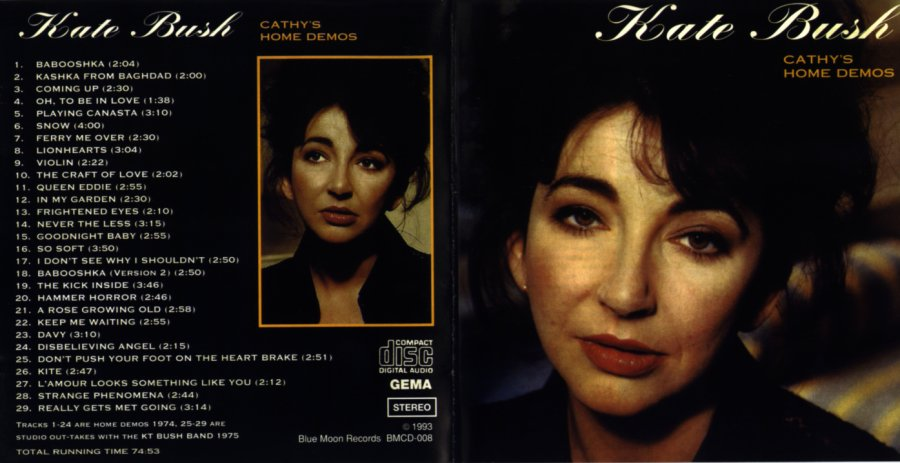 Kate Bush Cathy S Home Demos  Cover