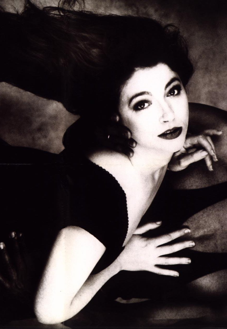 Kate Bush Red Shoes